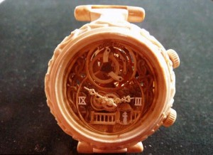 Fully Functional Watches Carved out of Wood (10 photos) 9