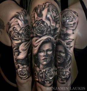 Incredibly Artistic Tattoos (62 photos) 45