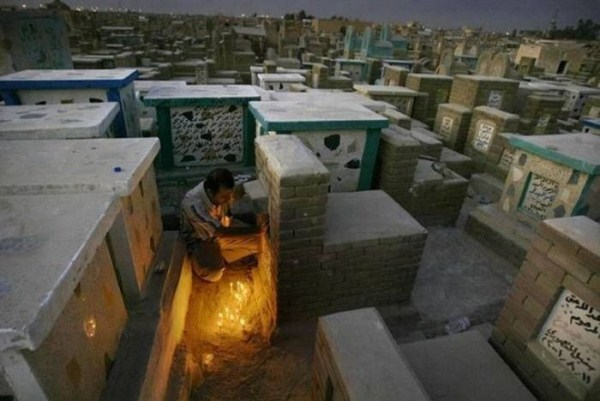 ρέμα alsalaam είναι το μεγαλύτερο νεκροταφείο του κόσμου 10 Worlds μεγαλύτερο νεκροταφείο (12 φωτογραφίες)