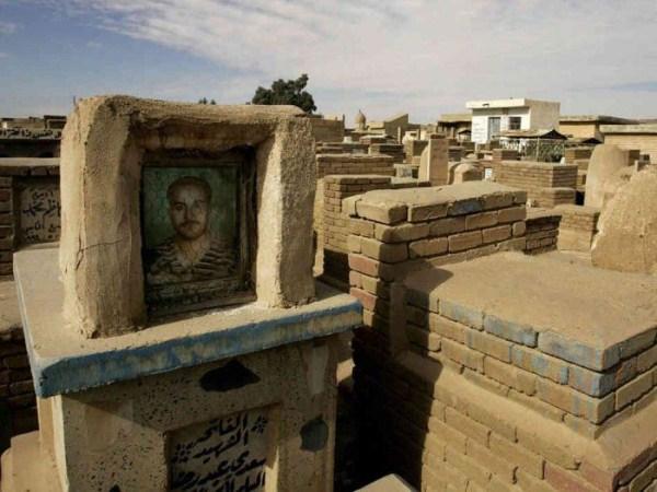 ρέμα alsalaam είναι το μεγαλύτερο νεκροταφείο του κόσμου 3 κόσμους μεγαλύτερο νεκροταφείο (12 φωτογραφίες)