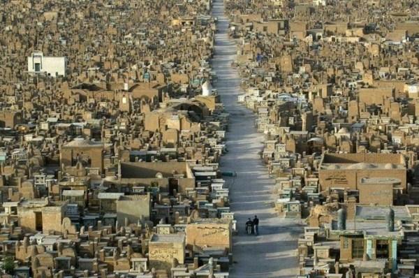 ρέμα alsalaam είναι το μεγαλύτερο νεκροταφείο του κόσμου 8 κόσμους μεγαλύτερο νεκροταφείο (12 φωτογραφίες)