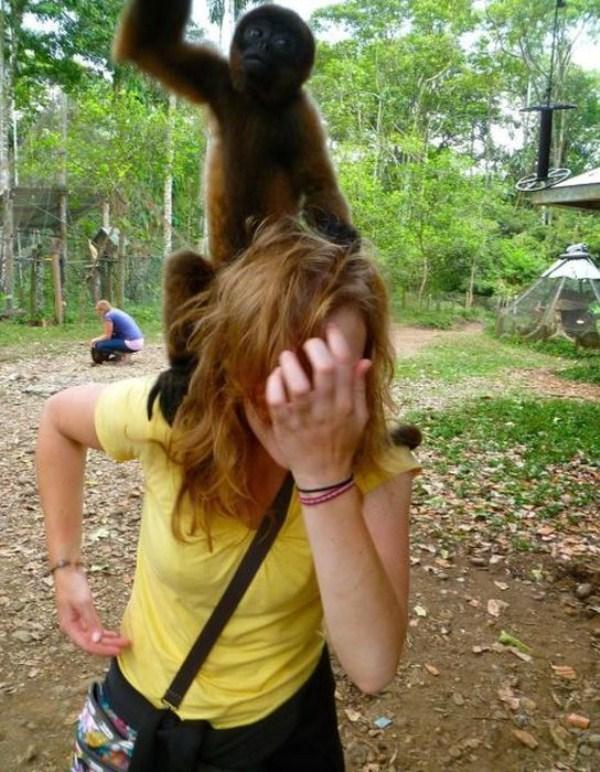 women vs animals 24 Women vs Animals (35 photos)