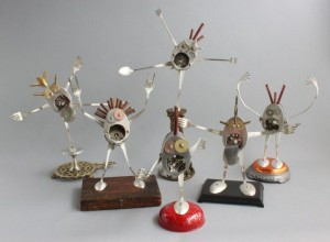 Scrap Material Sculptures (25 photos) 21