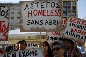 Homeless Greeks (40 photos) 24
