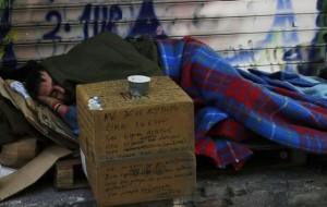 Homeless Greeks (40 photos) 30