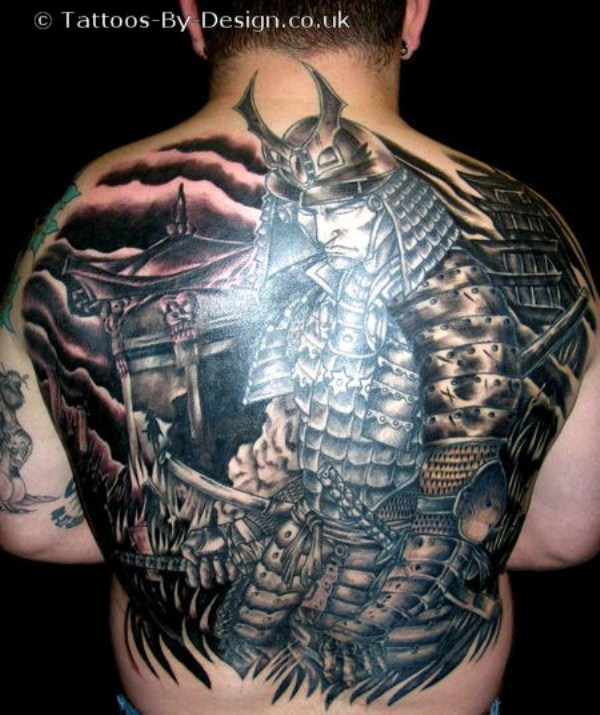 Amazing Full Back Tattoos (43 photos) 41