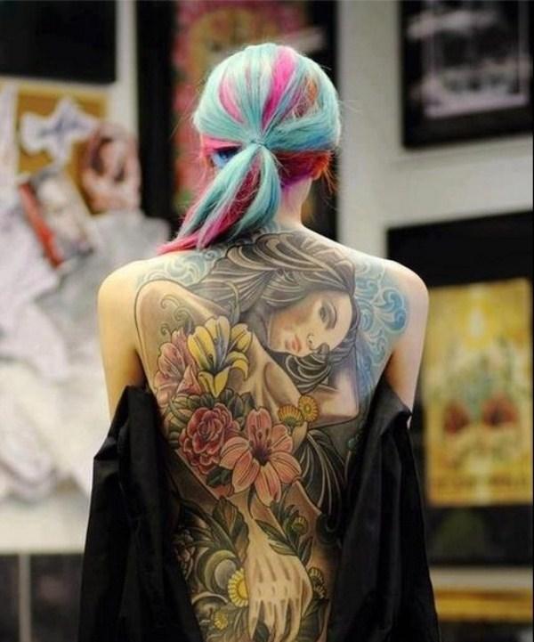 Amazing Back Tattoo Designs