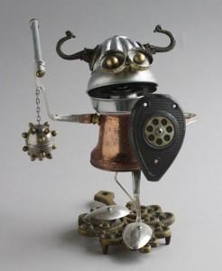 Scrap Material Sculptures (25 photos) 7