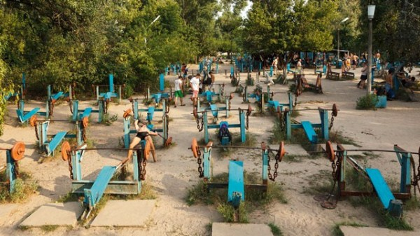 Ukraine's Muscle Beach (14 photos) 8