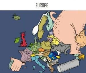 Creative Interpretations of European Countries (22 photos) 22