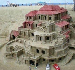 Beautiful Sand Art (26 photos)