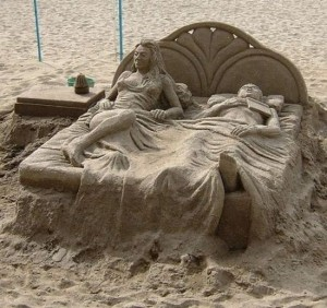 Beautiful Sand Art (26 photos) 26