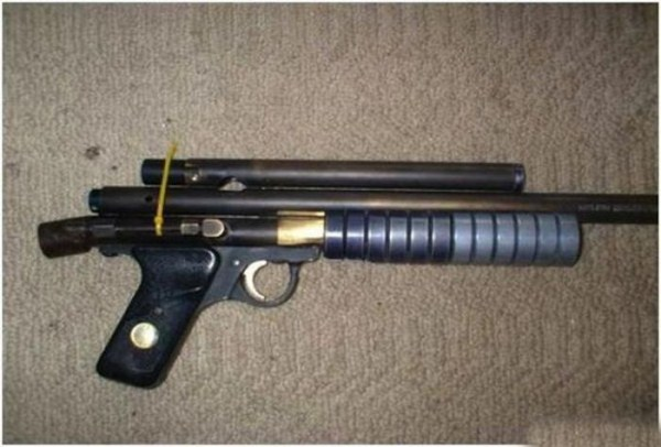 homemade weapons 16 pictures