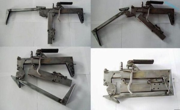 homemade weapons 5 pictures