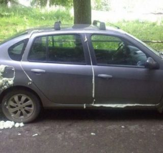 Examples of Cruel Car Revenge (57 photos)