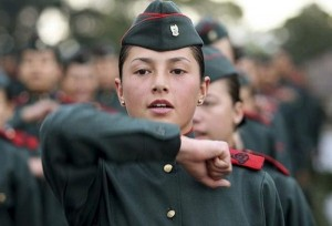 The Most Beautiful Female Army Soldiers (20 photos) 4