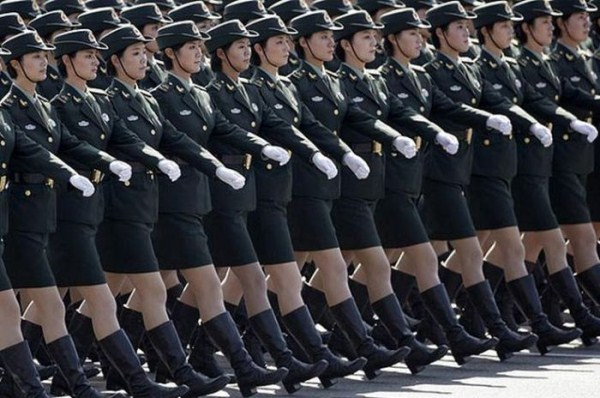 which country has the most beautiful female army soldiers 07 1