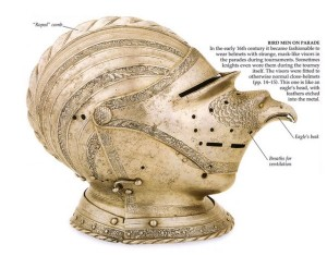 Helmets from the Age of Armored Combat (32 photos) 11