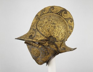 Helmets from the Age of Armored Combat (32 photos) 12