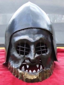 Helmets from the Age of Armored Combat (32 photos) 15