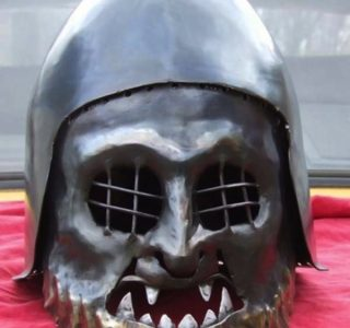 Helmets from the Age of Armored Combat (32 photos)
