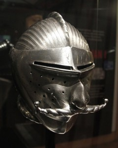 Helmets from the Age of Armored Combat (32 photos) 19