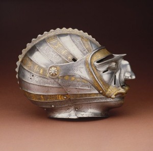 Helmets from the Age of Armored Combat (32 photos) 20