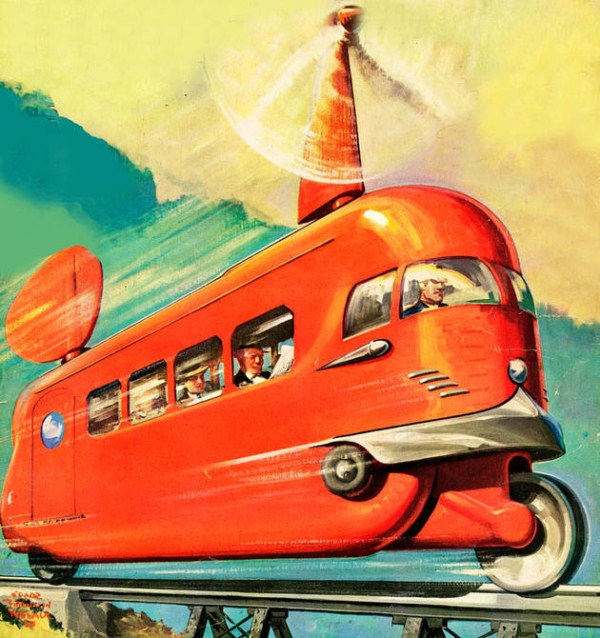 Past Predictions of Future Travel (20 photos) 20