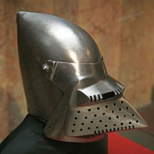 Helmets from the Age of Armored Combat (32 photos) 22