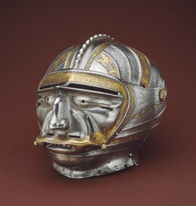 Helmets from the Age of Armored Combat (32 photos) 25
