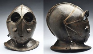 Helmets from the Age of Armored Combat (32 photos) 28