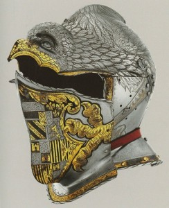Helmets from the Age of Armored Combat (32 photos) 4