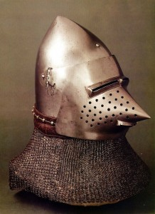 Helmets from the Age of Armored Combat (32 photos) 5