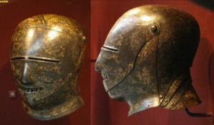 Helmets from the Age of Armored Combat (32 photos) 6