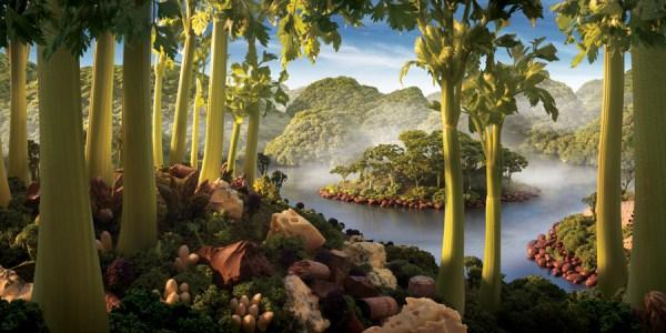 9 Ένας κόσμος φτιαγμένος από Τροφίμων (24 φωτογραφίες)