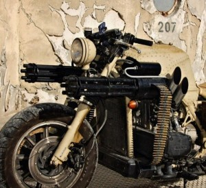Motorcycle with Two Guns (12 photos) 11