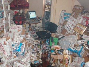 Video Gamers Who Live in a Pigsty (22 photos) 16