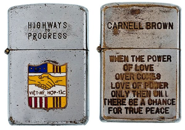 Engraved Lighters from the Vietnam War (21 photos) 10