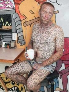 Real Life Leopard Man (12 photos) 10