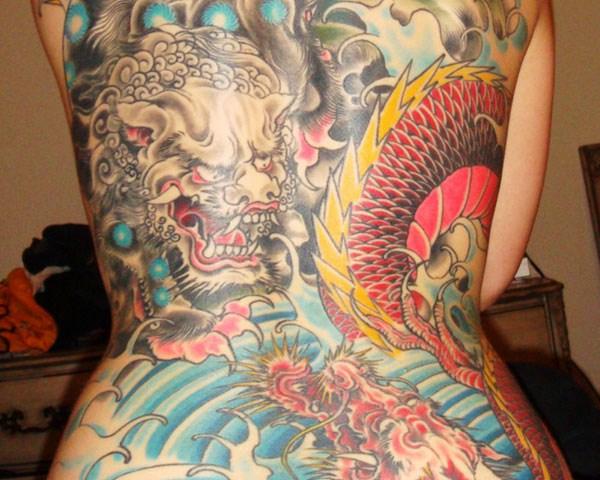 1123 138 Εξαιρετικά Μεγάλο Τατουάζ (138 φωτογραφίες)