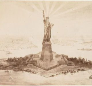 Building The Statue Of Liberty (11 photos)