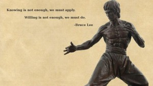 Psilosophy of Life According To Bruce Lee (15 photos) 12