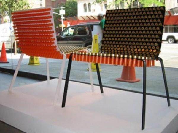 1228 καρέκλες από Weird Υλικά (41 φωτογραφίες)