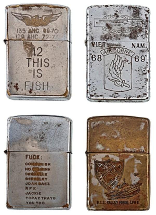139 Χαραγμένο αναπτήρες από τον πόλεμο του Βιετνάμ (21 φωτογραφίες)