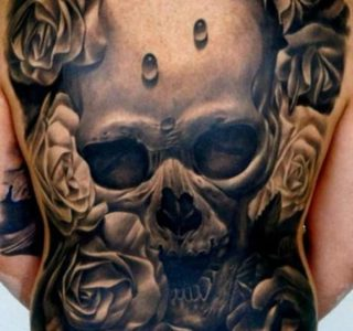 138 Extremely Large Tattoos (138 photos)