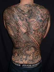 138 Extremely Large Tattoos (138 photos) 32