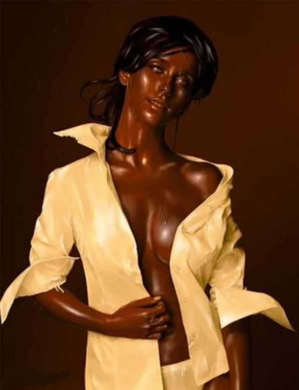 Incredible Chocolate Sculptures (42 photos) 34