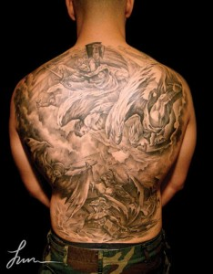 138 Extremely Large Tattoos (138 photos) 42