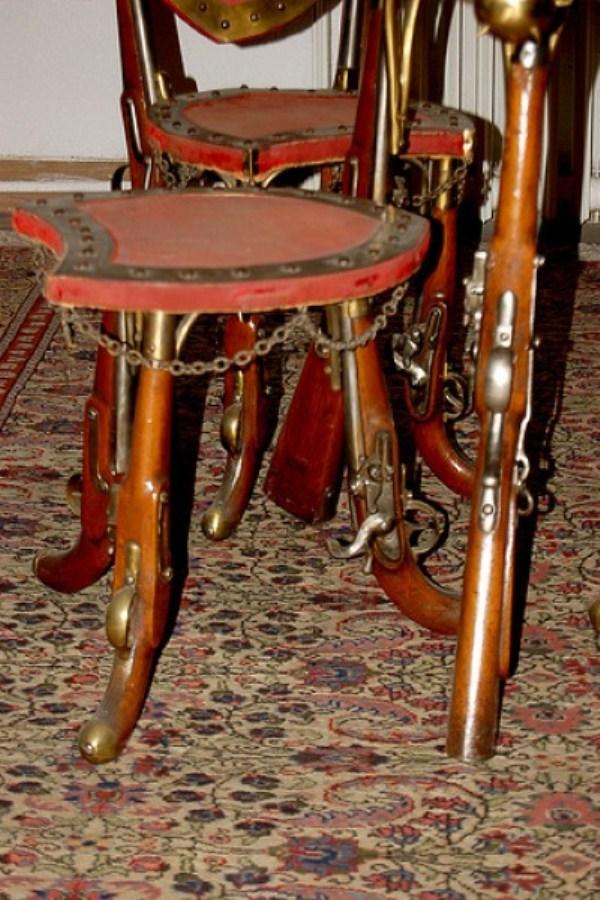 440 καρέκλες από Weird Υλικά (41 φωτογραφίες)