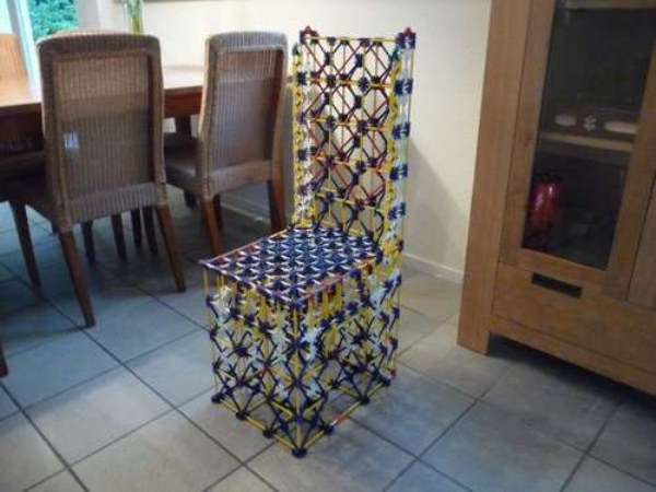 Καρέκλες 534 Κατασκευασμένο από Weird Υλικά (41 φωτογραφίες)